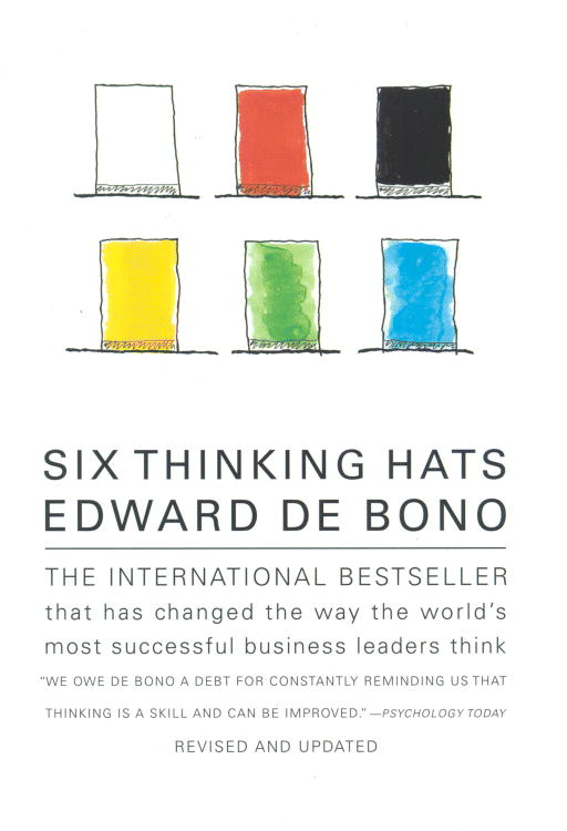 Six Thinking Hats By De Bono, Edward